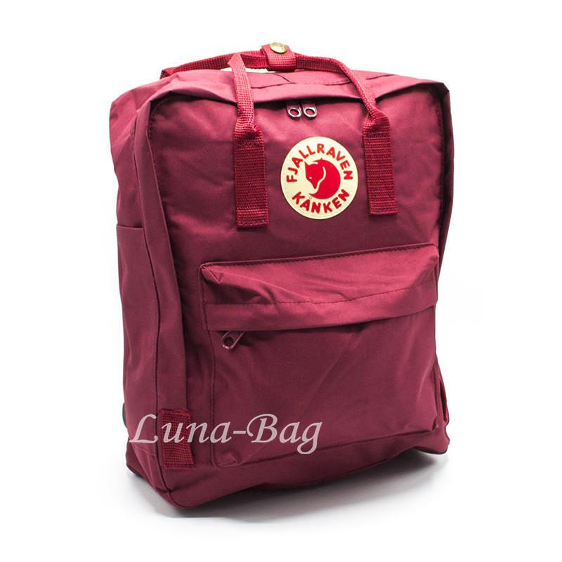 "Рюкзак ""KÅNKEN"" 10 Цветов Красный( Размер: 37*28*12)"