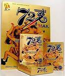 """Капсулы для повышения мужской потенции """"72 BIAN""""72 Бьян 6 капсул в упаковке"""