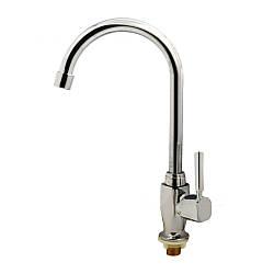 Кран для кухонной мойки на одну воду Haiba Mono-1
