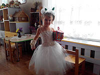 Бальное платье от м-на Златовласка. Екатерина, 2 года 11 месяцев. г.Васильков.