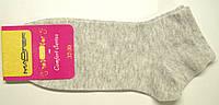 """Летние носки для спорта """"Мастер Стэп"""" женские светло-серые"""