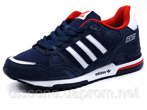 Кроссовки Adidas ZX750 мужские, темно-синие