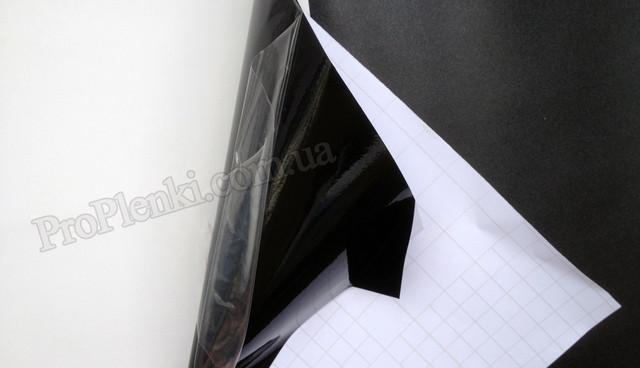 Пленка черный глянец карбинс