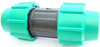 Муфта компрессионная Georg Fischer d=50 мм для соединения полиэтиленовых труб