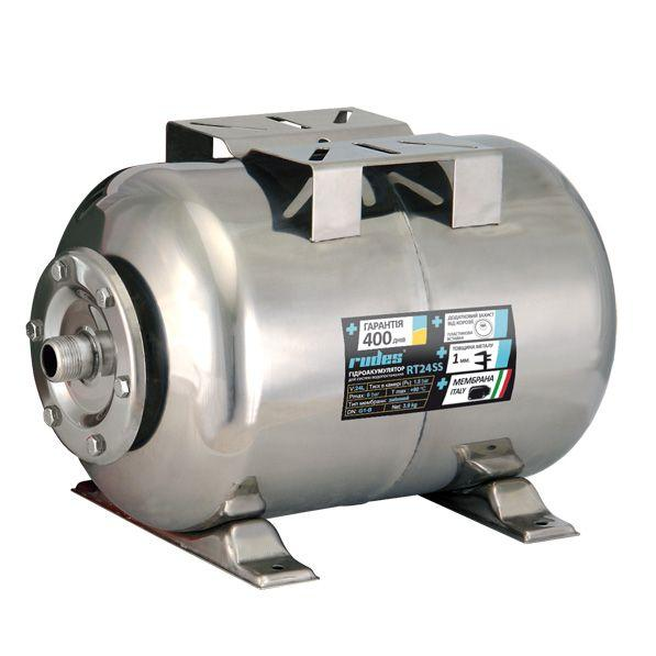 Гидроаккумуляторы для систем водоснабжения rudes RT50SS