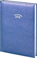 Ежедневник Brunnen 2016 карманный Shine срб/т синий