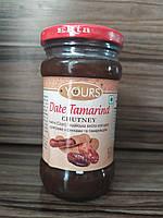 Чатні, соус індійська кисло-солодка приправа з фініками і тамарином, Date Tamarind Chutney, 323гр
