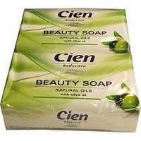 Мыло туалетное оливка Cien Cremeseife Natural Oils 150 г