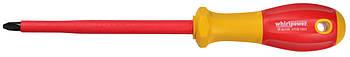 Диэлектрическая отвертка Whirlpower V112-1002 PH2*100 мм