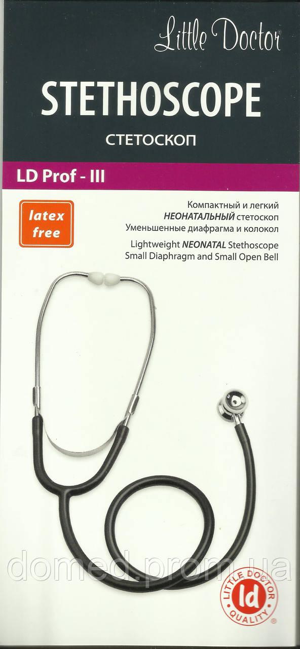 Неонатальный стетофонендоскоп Prof - III