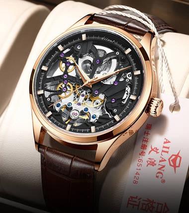 Мужские наручные часы механические Ailang Profi, фото 2