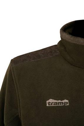 Мужская флисовая куртка Tramp Аккем TRMF-005-khaki-XXXL Hakki, фото 2