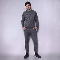 Мужской спортивный костюм Teamv Casual 2 Антрацит S