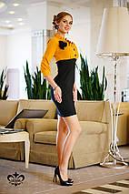 Платье двухцветное | Роза 2 lzn, фото 3