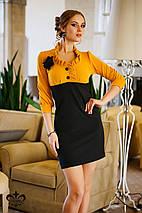 Платье двухцветное | Роза 2 lzn, фото 2