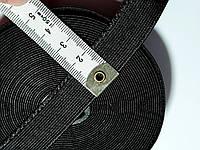 """Гумка  білизняна для шиття 2 см. Чорна ( ТМ """" Оазис"""" ) ціна за 1 метр"""