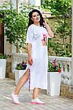 Платье женское в спортивном стиле большого размера 48-50,52-54,56-58, фото 7