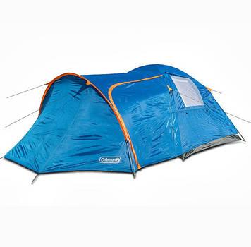 Палатка туристическая, четырех местная палатка, палатка с тамбуром, двухслойная палатка, намет, непромокаемая