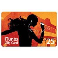 Пополнение счета iTunes Gift Card $25 USA