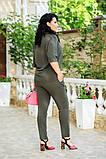 Женский брючный костюм батал Украина размер: 48-50.,52-54.,56-58., фото 5