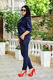 Женский брючный костюм батал Украина размер: 48-50.,52-54.,56-58., фото 7