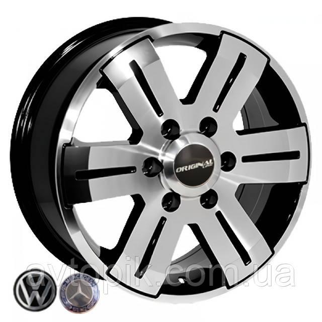 Литі диски Replica Volkswagen (BK562) R16 W7 PCD5x120 ET55 DIA65.1 (BP)