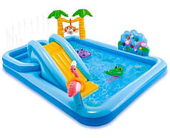 """Игровой центр надувной детский """"Джунгли"""" Intex 57161"""