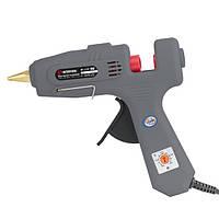 Пистолет клеевой INTERTOOL 120-360 Вт, 100-220°C, стержни 10.8-11.5мм, 13-30 г/мин., регулятор температуры