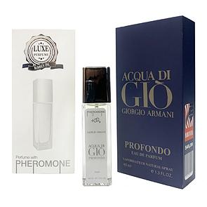 Pheromone Formula Giorgio Armani Acqua Di Gio Profondo мужской 40 мл