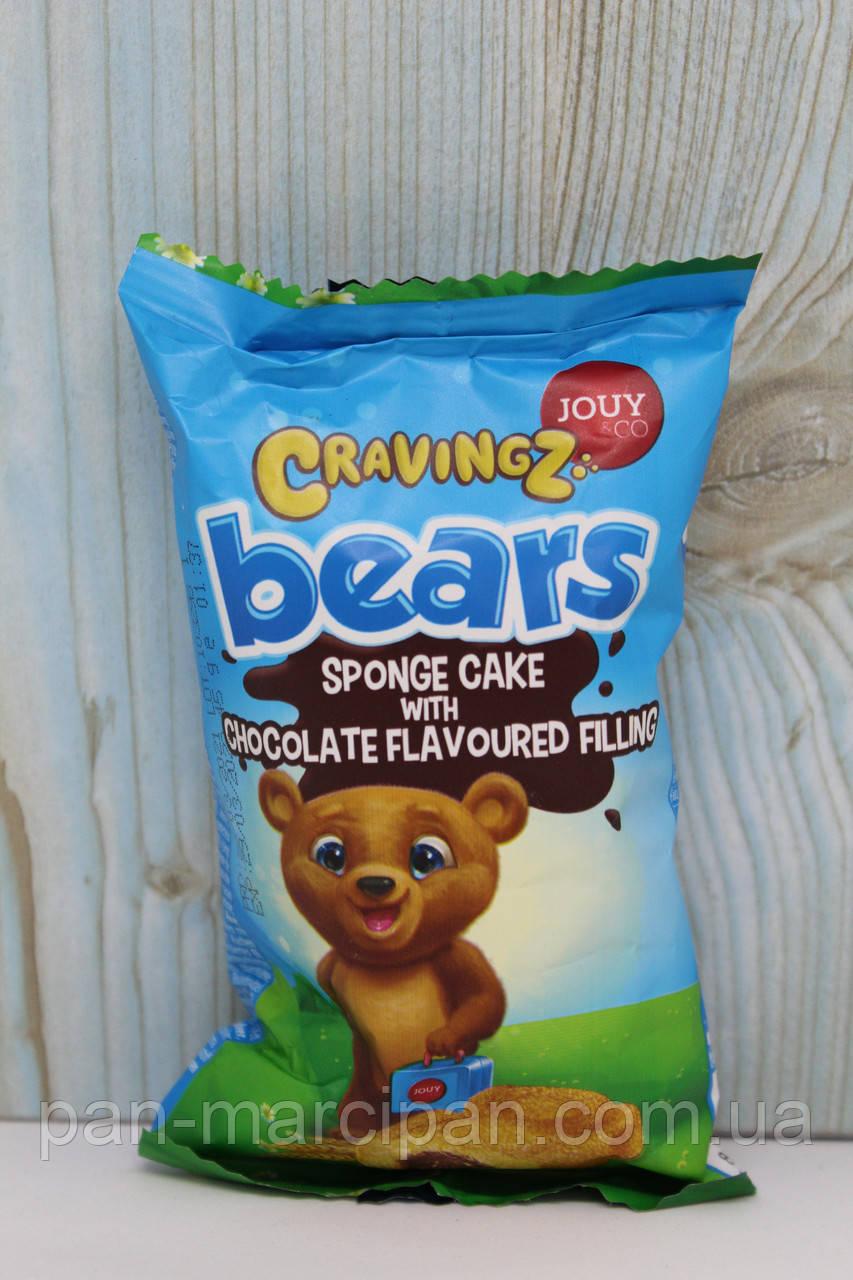 Бісквіт ведмедик Cravingz Bears 45g