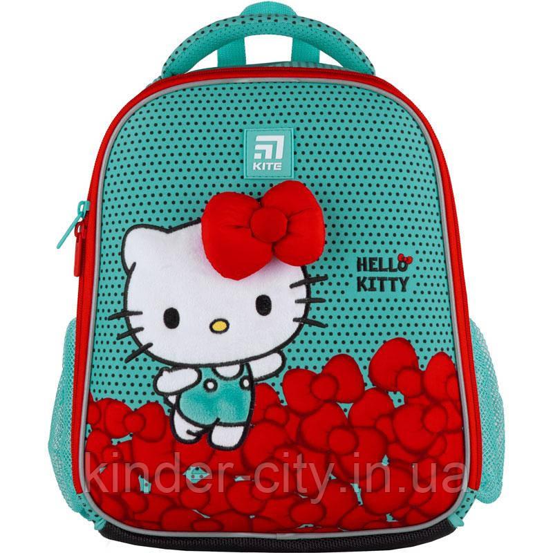 Рюкзак школьный каркасный Kite Education Hello Kitty HK21-555S