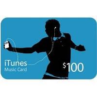 Пополнение счета iTunes Gift Card $100 USA