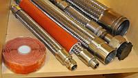 Гибкие вставки из нержавейки и фторопласта для промышленного применения