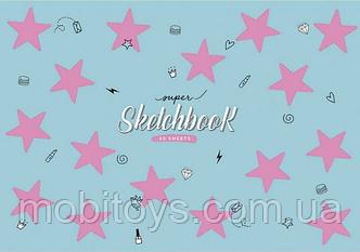 Альбом для малювання 30 арк. на пружині STAR (030-230) (9/81) (асортимент)