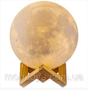 Нічник Moon Touch Control 3D Місяць 13см. (6727)