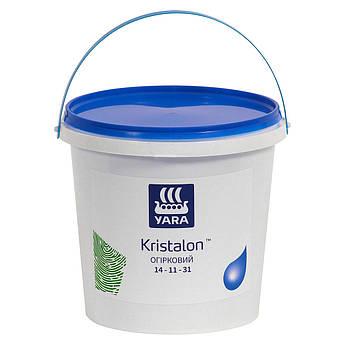 Комплексное водорастворимое удобрение NPK Яра Кристалон для огурцов, кабачков Yara KRISTALON 14-11-31 (5,0 кг)