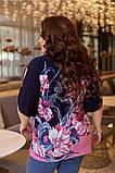 Туніка жіноча великого розміру 54,56,58,60!, фото 3