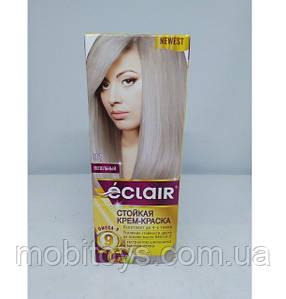"""Стійка крем-фарба для волосся """"ECLAIR"""" OMEGA-9 91 Попелястий"""