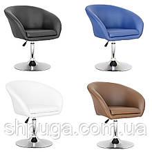 Крісло перукарське Мурат НЬЮ, кожзам - чорний ,білий,синій,коричневий.