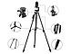 Штатив профессиональная телефона, камеры и фотоаппарата VCT-5208 UTM с bluetooth пультом, фото 2