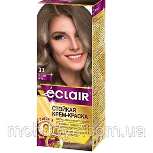 """Краска для волос Éclair с маслом """"OMEGA 9"""" 33 Лесной орех"""