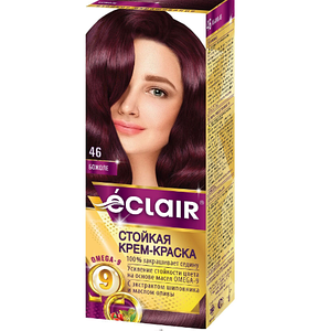 """Краска для волос Éclair с маслом """"OMEGA 9"""" 46 Божоле"""