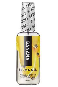 Оральный гель-лубрикант EGZO AROMA GEL - Banana, 50 мл LE-AR01