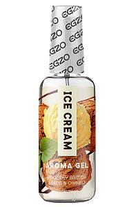 Оральный гель-лубрикант EGZO AROMA GEL - Ice Cream, 50 мл LE-AR03