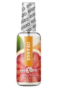Оральный гель-лубрикант EGZO AROMA GEL - Orange, 50 мл LE-AR06