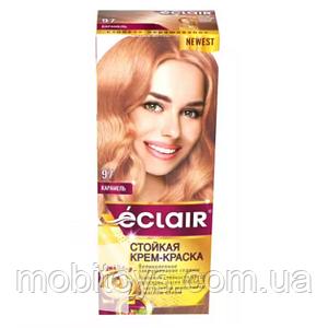 """Краска для волос Éclair с маслом """"OMEGA 9"""" 97 Карамель"""