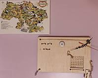 Органайзер для канцелярии - Часы - Вечный календарь Без наполнения Настенный