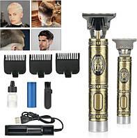Окантовочнаямужская машинка для стрижки волос WS-T99 аккумуляторный триммер для бороды и усов