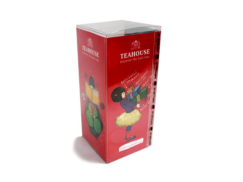 Чай Teahouse (Тіахаус) Агата в пластиковій коробці 40*2г (Tea Teahouse Agatha 40*2g)