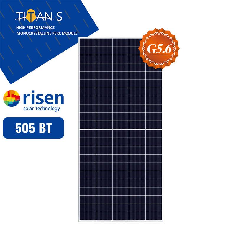 Сонячна панель Risen RSM150-8-505M(сонячна батарея,фотомодуль,зелений тариф,сонячна електростанція)